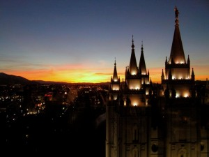 A Mormon Image:  The View from the Roof