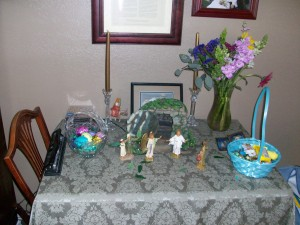 Preparing for Easter through Holy Week