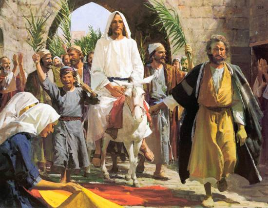 "Harry Anderson, ""Triumphal Entry"""