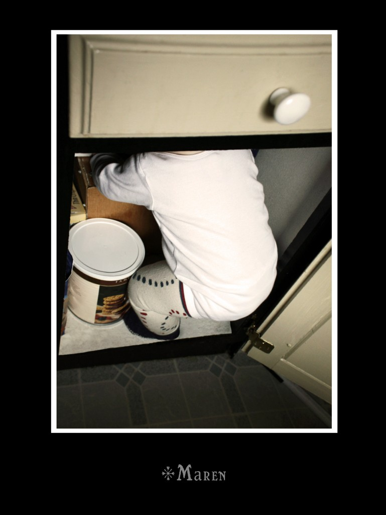 A Mormon Image: Baby in the Cupboard