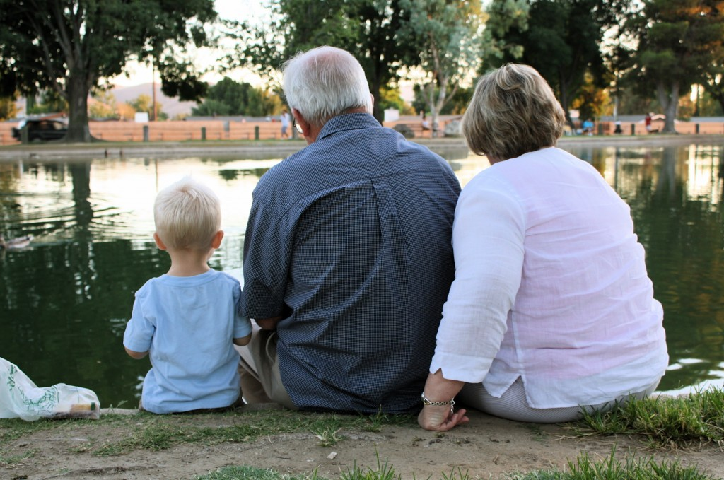 A Mormon Image: Grandparents