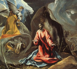 "El Greco, ""The Agony in the Garden,"" 1608"