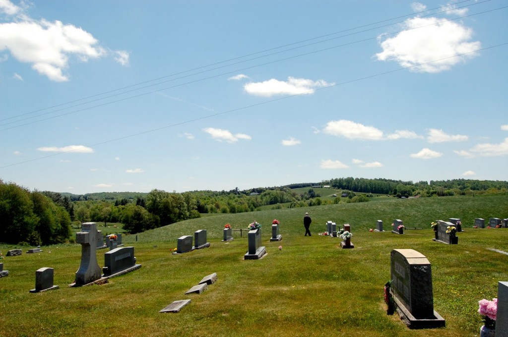A Mormon Image: Cemetery in Carrol County