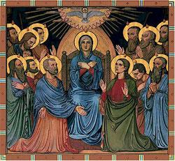 Theotokos: Pentecost