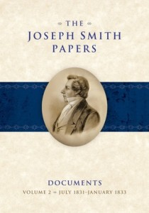 The Joseph Smith Papers, Documents Volume 2